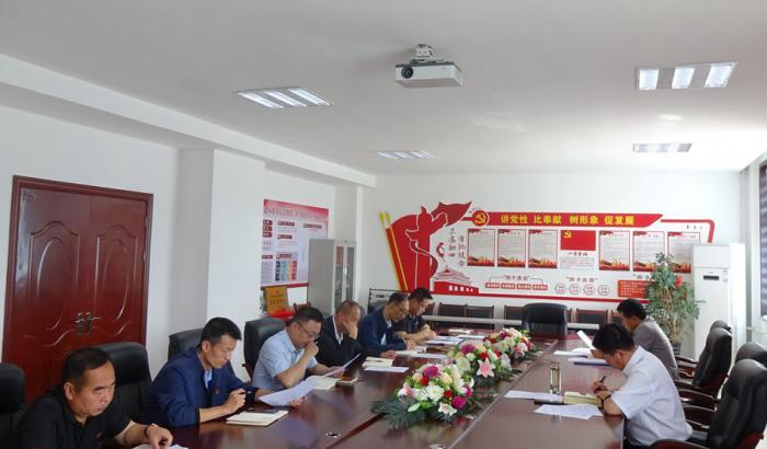 市陆港管委会机关党支部召开2020年 第二季度党员大会