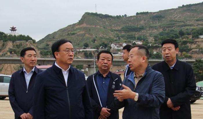 省政协党组成员袁占亭一行调研天水国际陆港