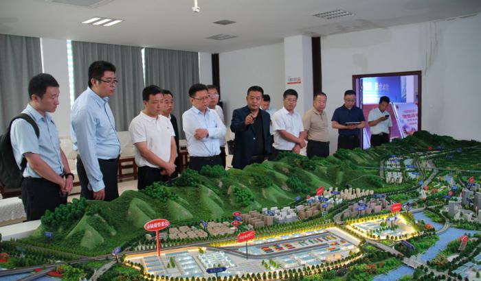 山东省港口集团调研天水国际陆港